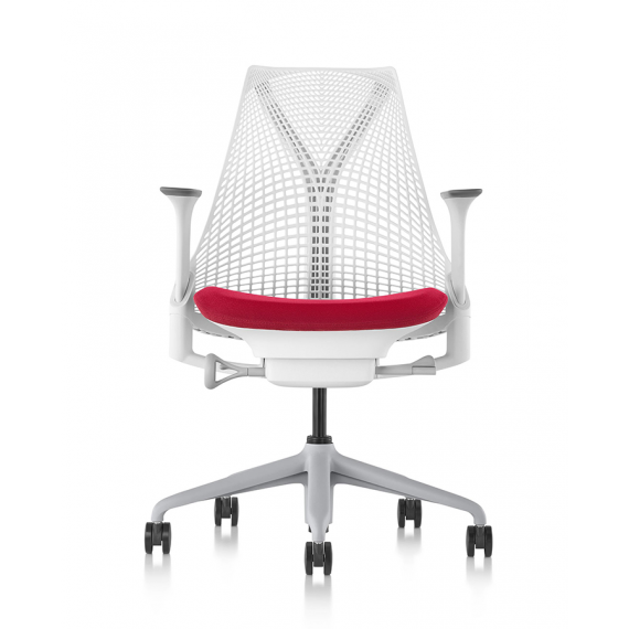 Chaise SAYL - Version Rouge / Blanc - Herman Miller
