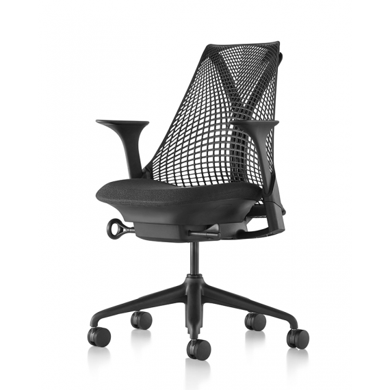 Chaise SAYL - Version Noir - Herman Miller