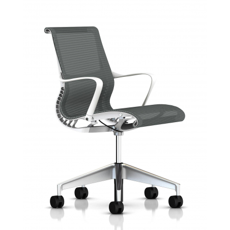 Chaise  SETU slate grey / white - Herman Miller