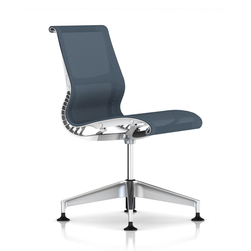 Chaise  SETU berry blue / white - Herman Miller
