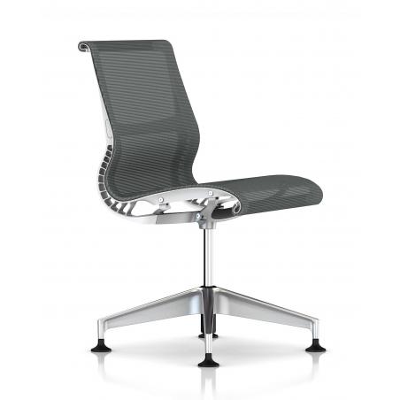 Chaise  SETU slate grey / white - Herman Miller