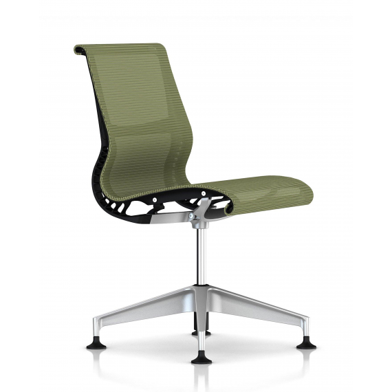 Chaise  SETU chartreuse / graphite - Herman Miller
