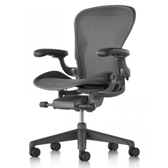 Chaise AERON carbon taille B - Standard Herman Miller