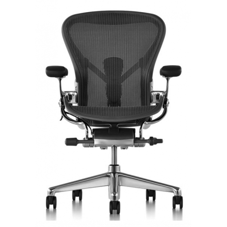 Chaise AERON Classic graphite taille B Herman Miller