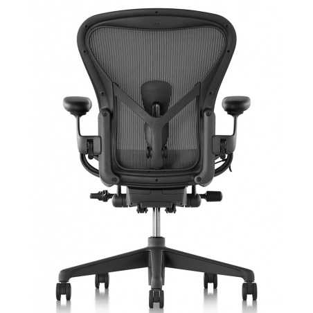 Chaise AERON Classic graphite taille B/C Herman Miller