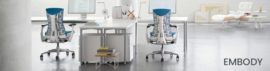 Chaises de bureau Ergonomiques EMbody Herman Miller   Genève Suisse