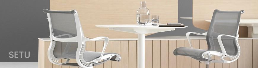 Chaises bureau Ergonomiques Setu Herman Miller | Genève Suisse